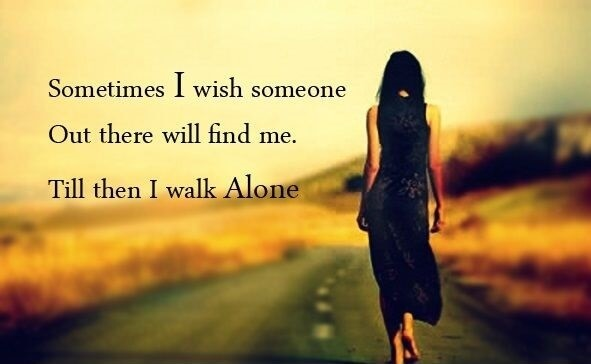 alone girl wallpaper