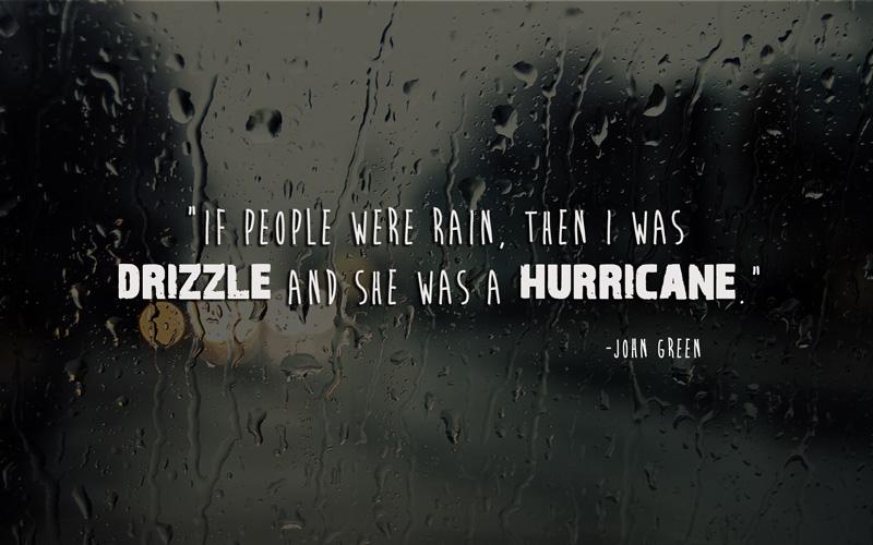 status for rainy days