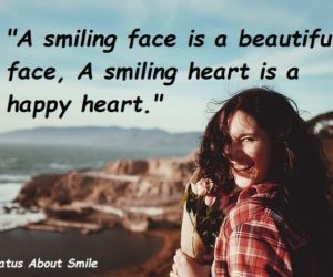 smiling face status