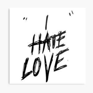 I Hate Love Status