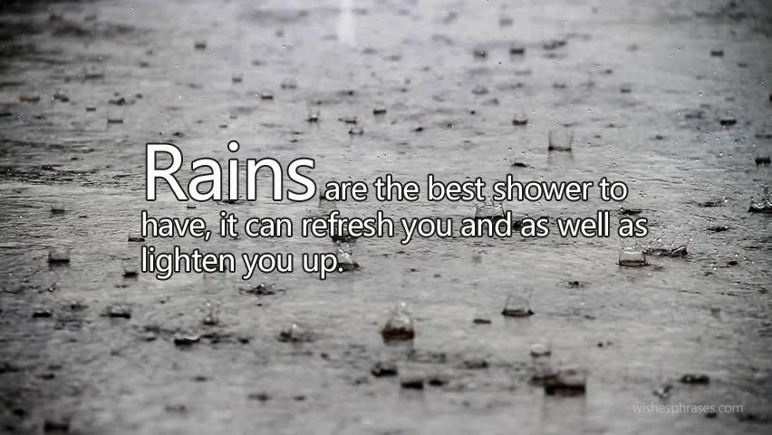 rainy days status