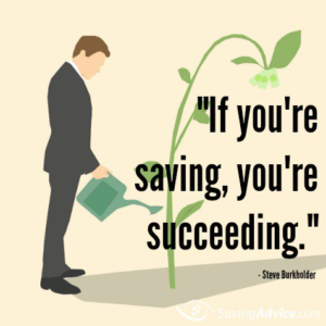 Savings Quote in English