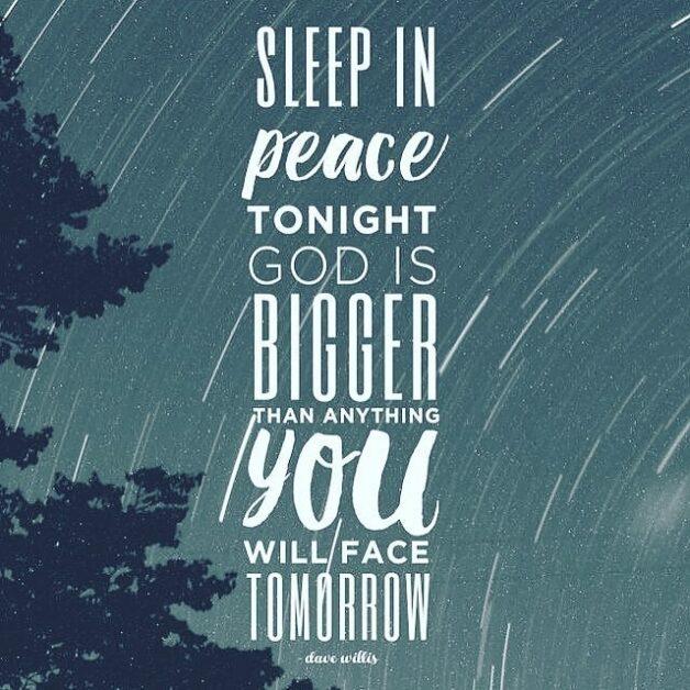 Good night prayer wishes
