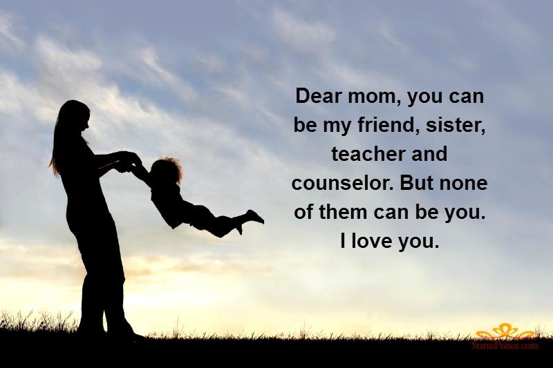 Status for mom