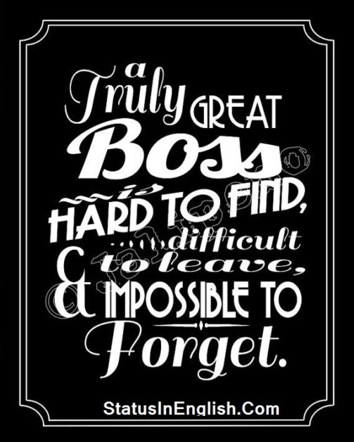 Motivational Quotes for Boss