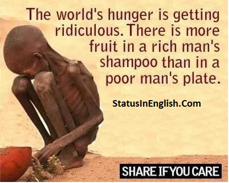 Quotes About Hunger and Poverty