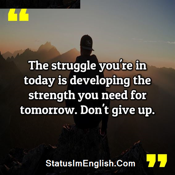 Inspirational Quotes About Life and Struggles