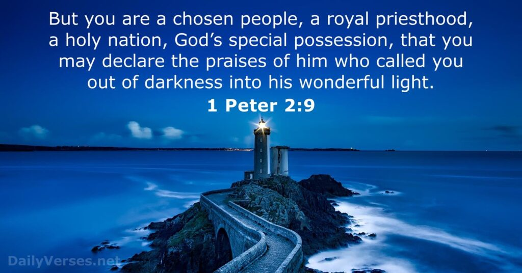 light quotes bible