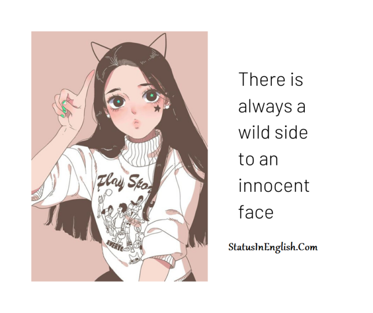 quotes on innocent face