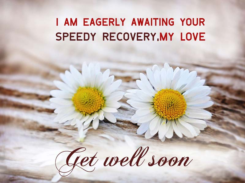 Get well soon wishes for lover