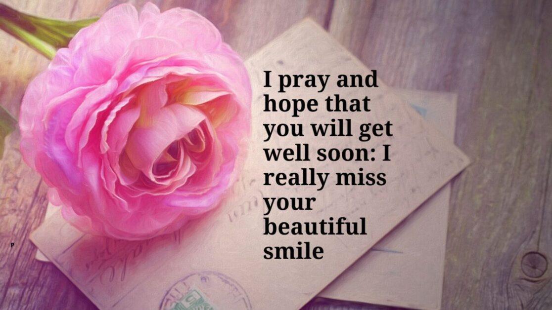 Get well prayers