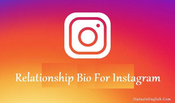 Relationship Bio For Instagram