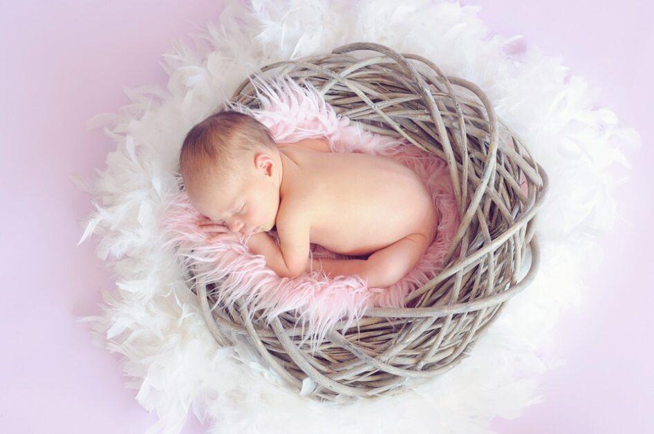 catholic prayer for newborn baby